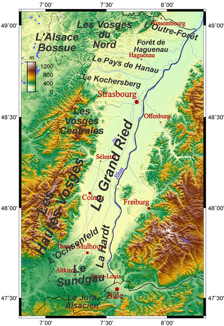The Alsace region (Wikipedia)