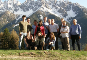 Groupicture of the excursion to Sud-Tirol