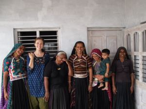 Conducting field work with women pastoralists in Gujarat, India (Summer 2012)