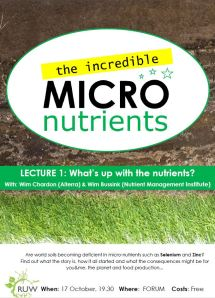 RUW The Incredible Micronutrients Series