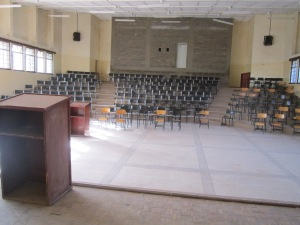 Main Lecture Hall at Maasai Mara University.