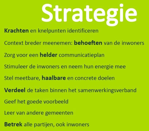 Ede strategie