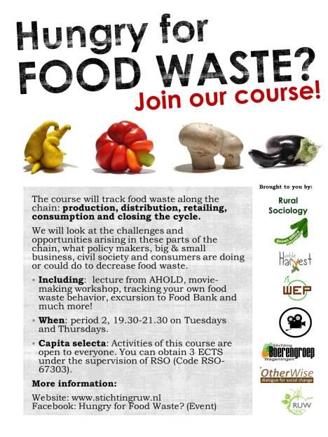 Food waste poster