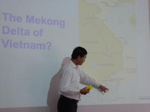 Leaning about the Mekong Delta