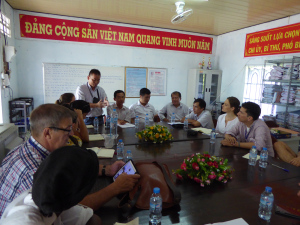 Meeting with district representatives of the Ministry of Agriculture and Rural Development